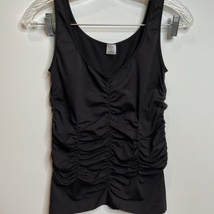Legacy super stretchy black top blouse sleeveless